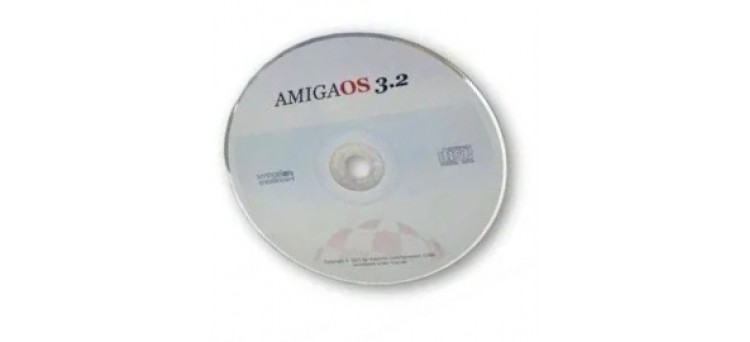 AmigaOS 3.2 CD-ROM for all Commodore Amigas
