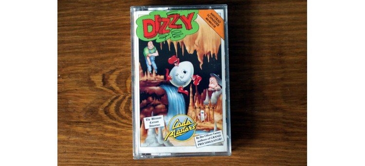 Dizzy - Amstrad 464 664 6128 - Code Masters - Adventure Cassette Game (1987)