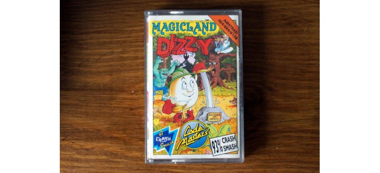 Magicland Dizzy Amstrad CPC 464 664 6128 - Code Masters - cassette game (1991)