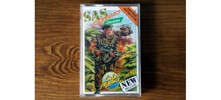 SAS Combat Simulator - Amstrad 464 664 6128 - Code Masters cassette game 1989