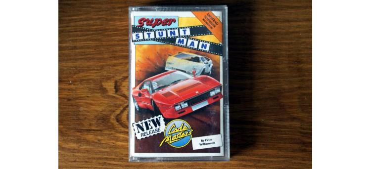 Super Stuntman - Amstrad 464 664 6128 - Code Masters cassette game (1988)