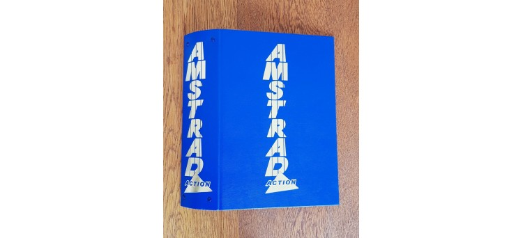Amstrad Action magazine Binders - new replicas from original tooling