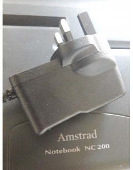 Amstrad NC200 Power Supply Adaptor UK computer plug PSU - safer than original