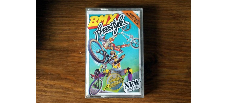 BMX Freestyle Amstrad CPC 464 664 6128 Schneider - Cassette Game - Code Masters