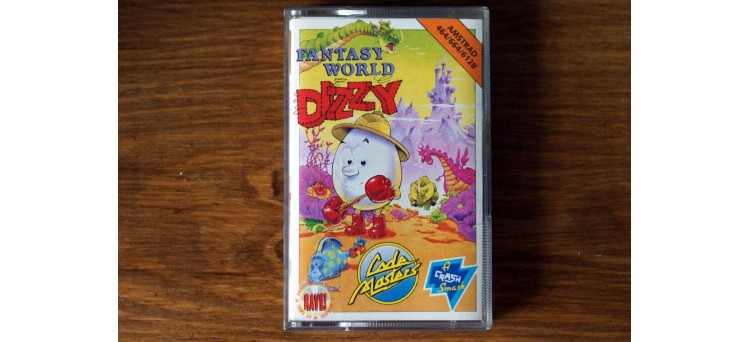 Fantasy World Dizzy Amstrad CPC 464 664 6128 - Code Masters - cassette game (1989)
