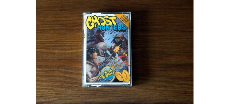 Ghost Hunters Amstrad CPC 464 664 6128 - Code Masters cassette game (1986)
