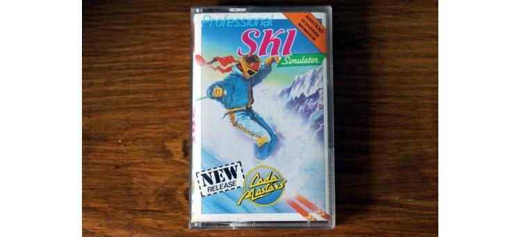 Professional Ski Simulator - Amstrad CPC 464 664 6128 - Code Masters cassette game (1987)