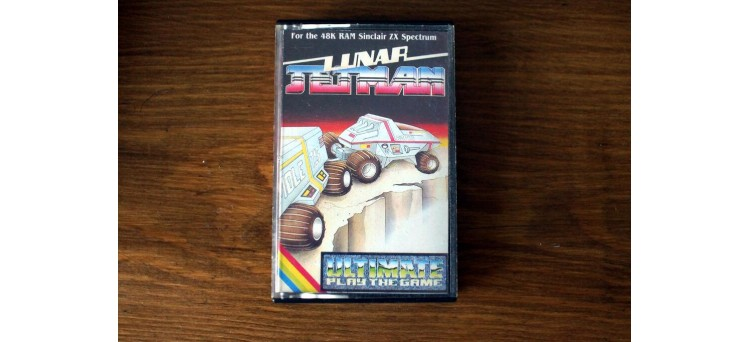 Lunar Jetman by Ultimate Play The Game - Sinclair ZX Spectrum cassette 48k