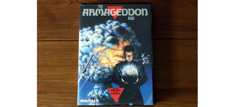 The Armageddon Man Sinclair ZX Spectrum Game by Martech -  including stickers