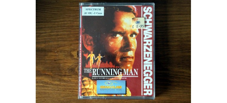 The Running Man - Sinclair ZX Spectrum 48k / 128k / +2
