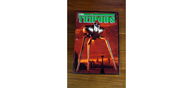 The Tripods 48k Sinclair Spectrum Game - boxed w/ inlays, map & manual