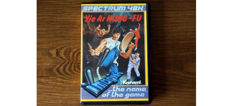 Yie Ar Kung Fu ZX Spectrum 48k Imagine 1984 cassette tape game