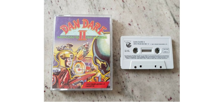 Spectrum Dan Dare II - 1987 very RARE Virgin version for Sinclair 48k/128k/+2