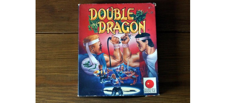 Double Dragon Sinclair ZX Spectrum Big Box with manual - cassette game (1988) Melbourne House / Mastertronic / Virgin