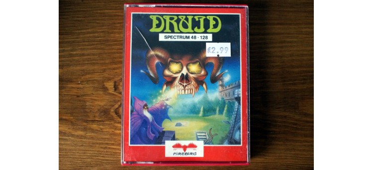 Druid - Sinclair ZX Spectrum game - 48k / 128k