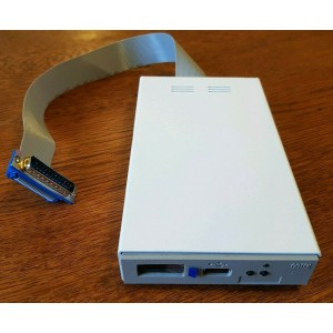 Amiga External Gotek USB Floppy Disk Emulator Drive in metal enclosure for A500* / A500+ / A600 / A1200 / A2000 / A4000 etc