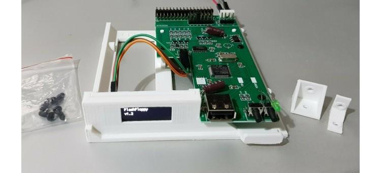Commodore Amiga 1200 / A1200 OLED Gotek USB Floppy Disk Emulator Complete Install Kit - Plug & Play