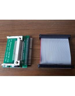 Commodore Amiga 600, 1200 IDE to Compact Flash Hard Drive Adaptor + IDE Cable