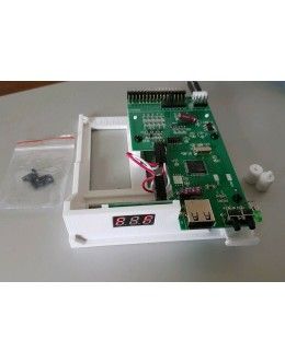 Commodore Amiga 500 / A500 Gotek USB Floppy Disk Emulator Complete Install Kit - Plug & Play