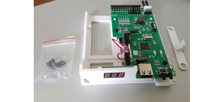 Commodore Amiga 600 / A600 Gotek USB Floppy Disk Emulator Complete Install Kit - Plug & Play