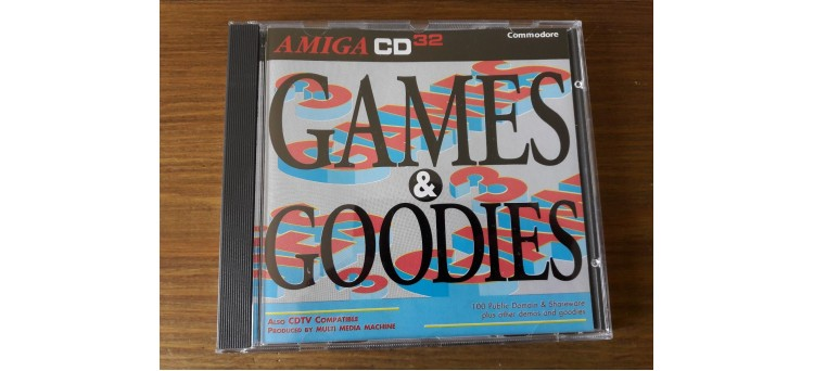 Games & Goodies Amiga CD32 and CDTV compilation by Multi Media Machine 1994