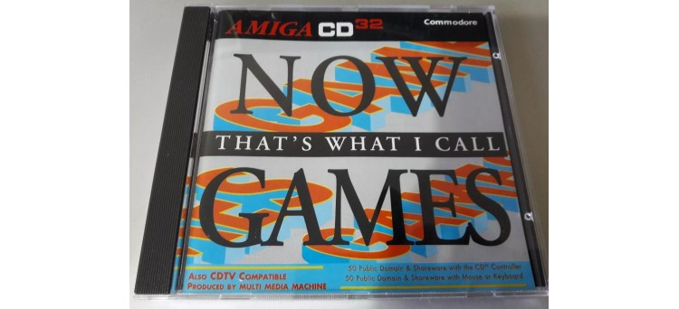 Now That's What I Call Games Amiga CD32 and CDTV compilation by Multi Media Machine 1993