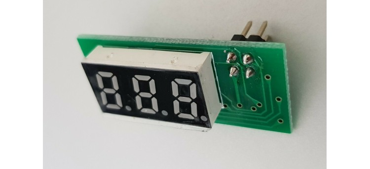 Gotek LCD 3-Digit LED Flash Floppy Compatible Display 4 pins