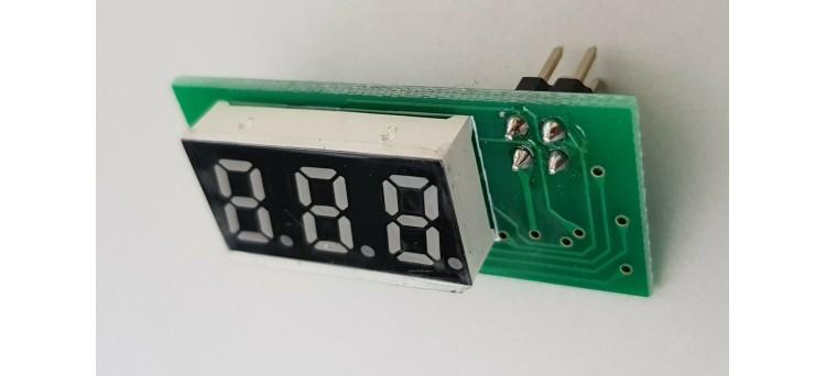 Gotek LCD 3-Digit LED Flash Floppy Compatible Display 4 pins