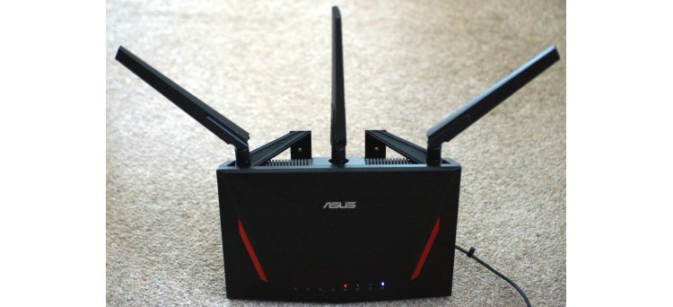 Wall Mounting Brackets for Asus RT-AC86u routers