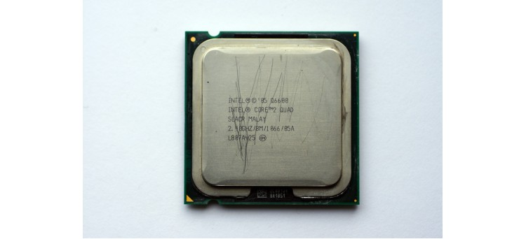 CPU '05 Q6600 Intel Core 2 Quad SLACR Malay 2.40GHZ / 8M / 1 066 / 05A LGA775