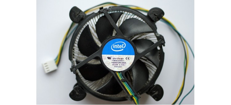 Intel E97378-001 Aluminium Copper Core 1150 1155 1156 CPU Heatsink Fan