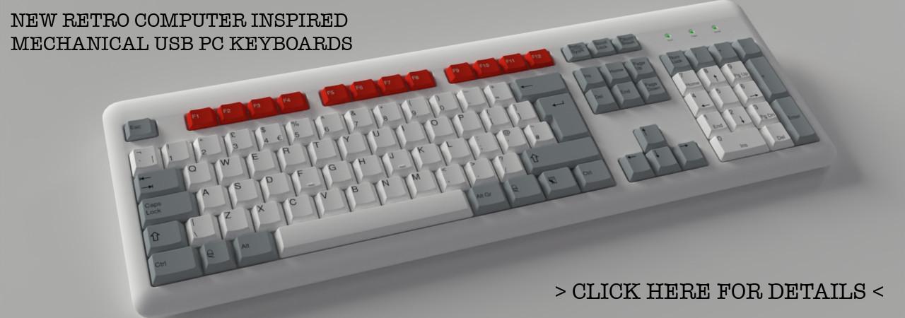 Acorn BBC micro style mechanical usb keyboard